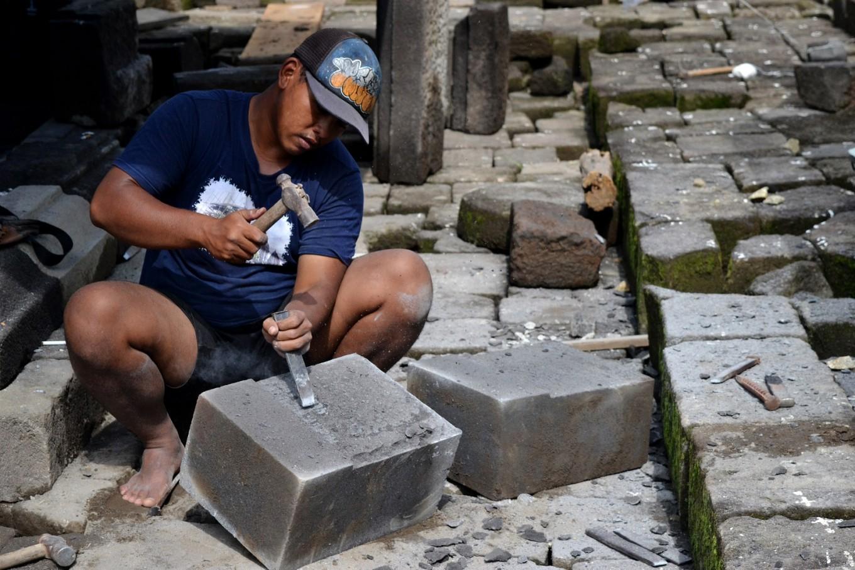 Kedulan Temple restoration enters anastylosis phase