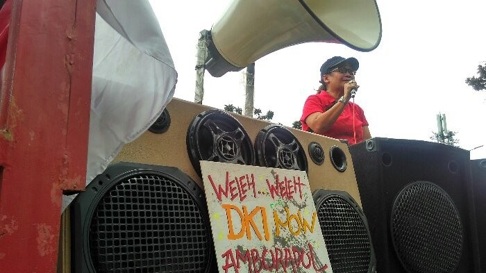 Anies has made Jakarta worse: Protesters