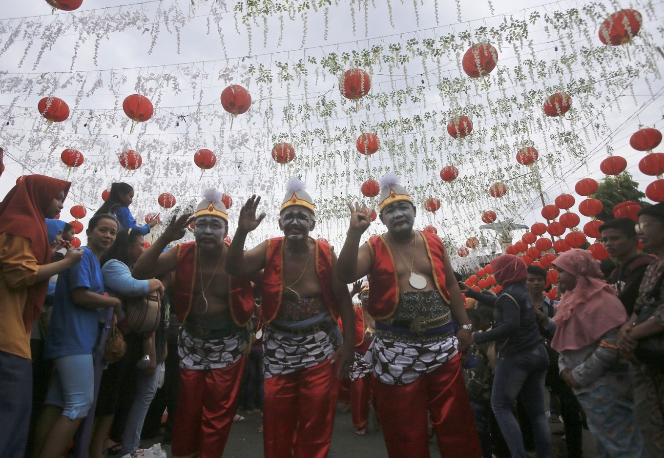 A mash of Chinese New Year, cultural diversity in Surakarta