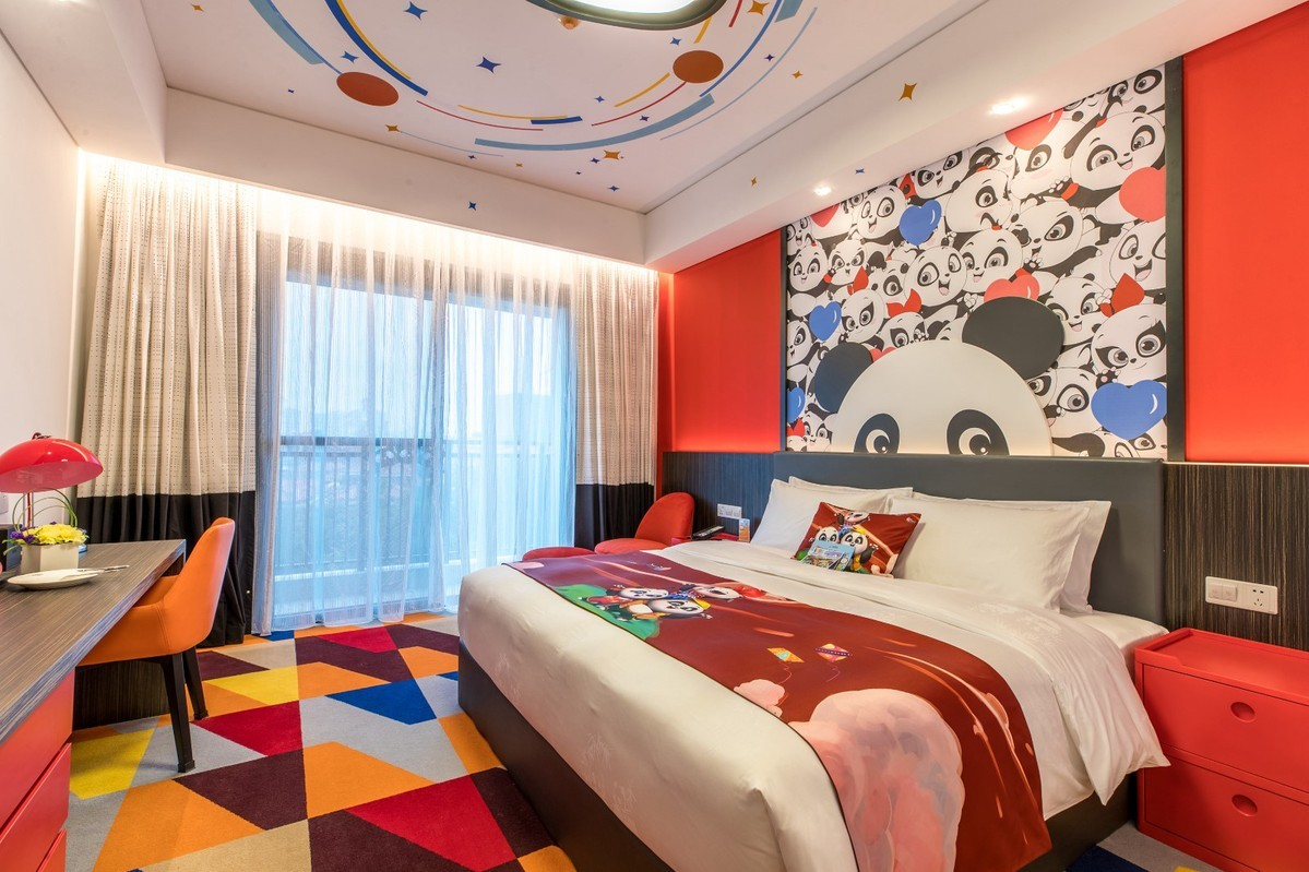 Chimelong to open panda-themed hotel