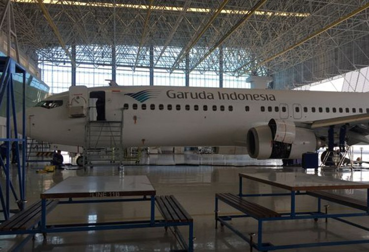 Garuda maintenance firm to produce plane tires