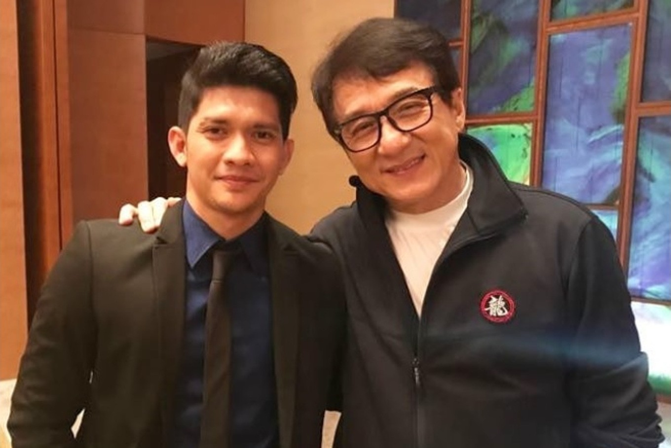 Joe Taslim shares photo of Iko Uwais, Jackie Chan
