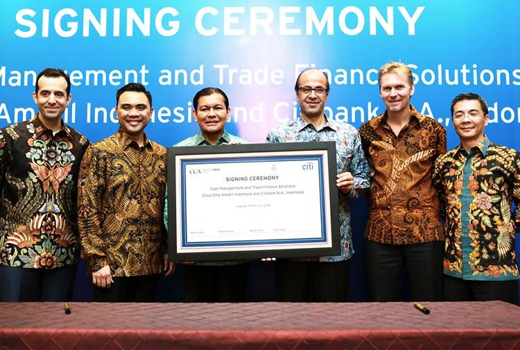 CCAI, Citi Indonesia sign business deal