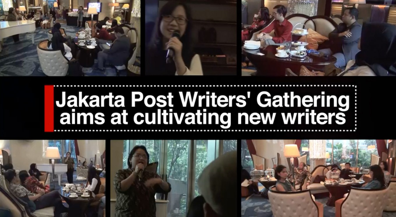 Jakarta Post Writers' Gathering aims at cultivating new writers