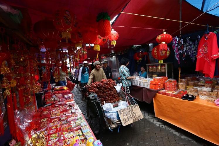 Lama Market in Tangerang