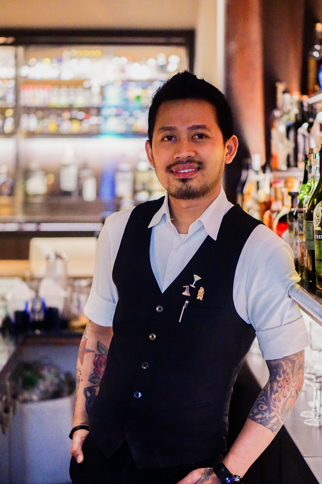 Bartender Indra Sartika for Kei Bar: Kei Bar is a true speakeasy: we are under orders not to reveal its location. What we can say is that the intimate, Ginza-style bar, managed by the ever-brilliant Kendy, offers serene seclusion in one of the busiest parts of the city, with soft jazz playing until the wee hours and a cosmopolitan selection of spirits. Although Kendy was not available, she asked her talented barman Indra Sartika to prepare for The Jakarta Post a delectable creation.