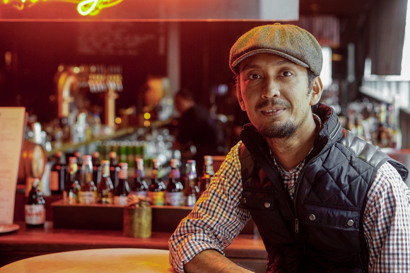 Mixologist Kika Moka for The Dutch: As a well-known figure behind the bar in Jakarta, Kiki Moka has never lost his thirst to find more ideas for creating cocktails. He says that the scene in Indonesia is progressing, albeit slowly, to catch up with those in other countries. Local mix masters are starting to explore flavors by combining ingredients based on international to local produce, and to try many different methods to create something different for the palate. On Kiki's Valentine's Day recollections, he says he once tried to impress a girl by creating a special cocktail – but it turns out she didn't drink alcohol. Rather than give up, Kiki made a spiced chocolate milkshake. The drink was a success: the woman is now his wife.