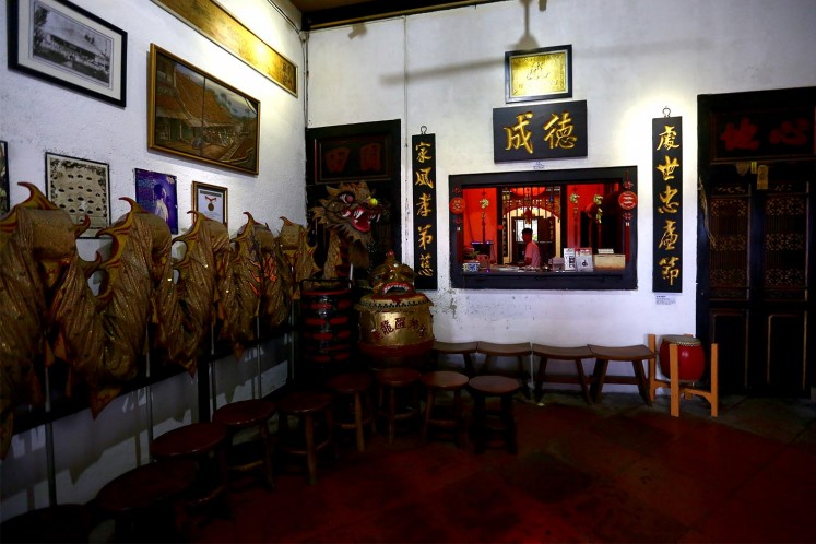 Inside the Benteng Heritage Museum in Tangerang