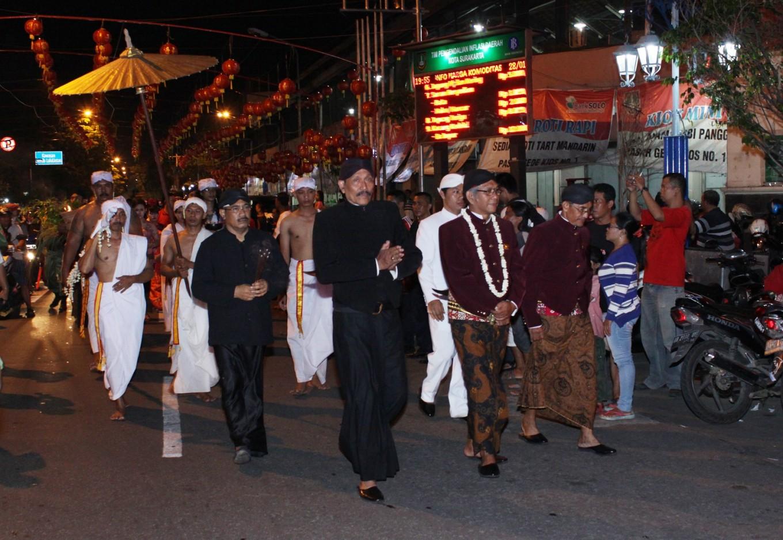 Ethnic harmony in Surakarta Chinatown