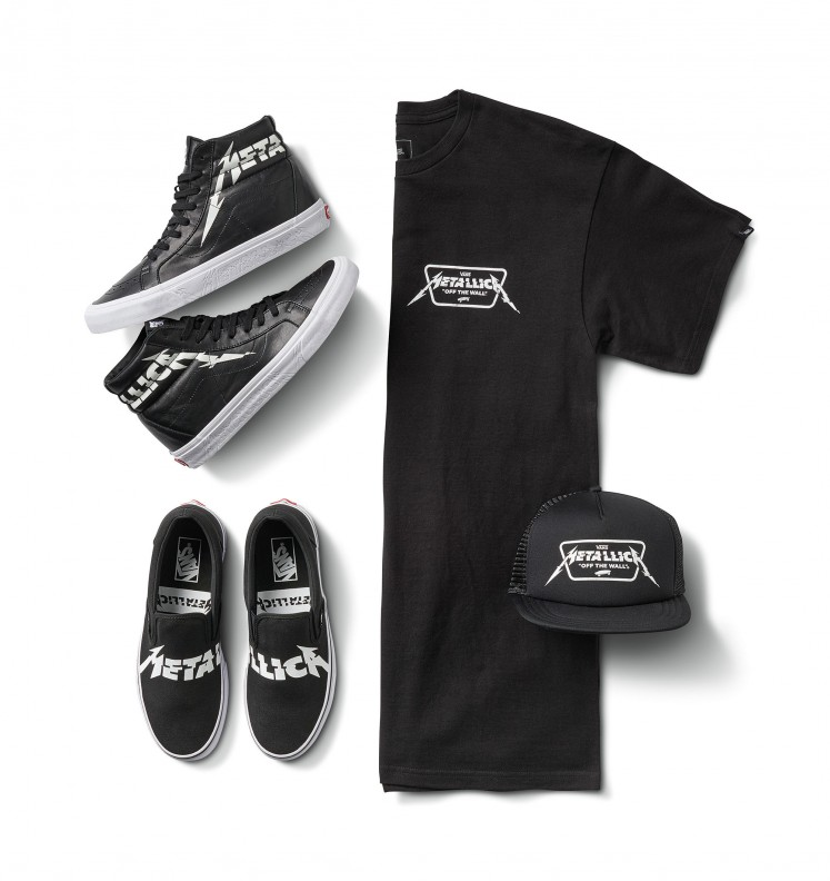 ec3624573bf ... Thrasher featured in Jakarta s Sneaker Week. Vans X Metallica  collaboration also includes T-shirts and trucker hats.