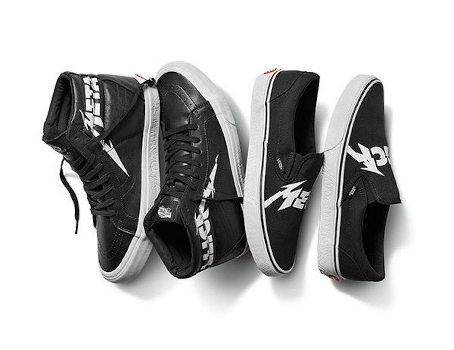 Hotness alert  Vans X Metallica sneaker series - Lifestyle - The ... 6ac85aeac282