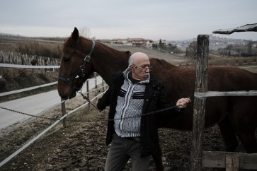 Italy's country doctor making house calls on horseback