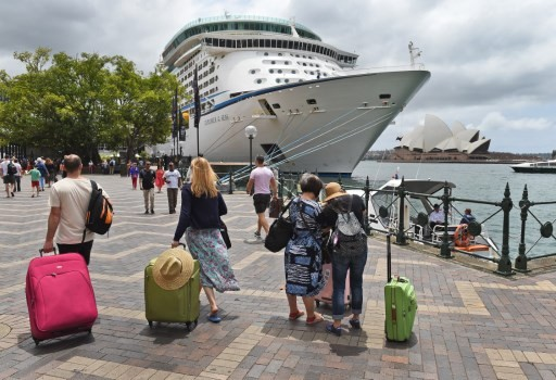 Brawling family of 23 removed from Australian cruise ship