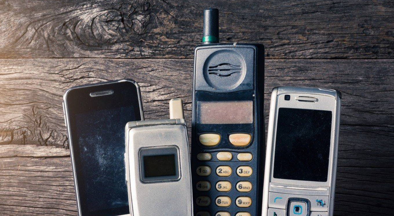 Seven vintage mobile phones that are worth a fortune today