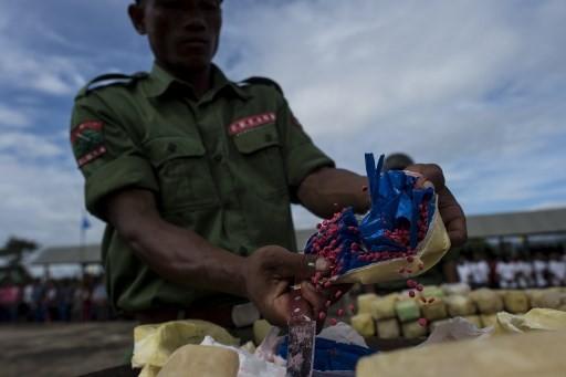 Myanmar seizes drugs and equipment worth $7 m in lab raid