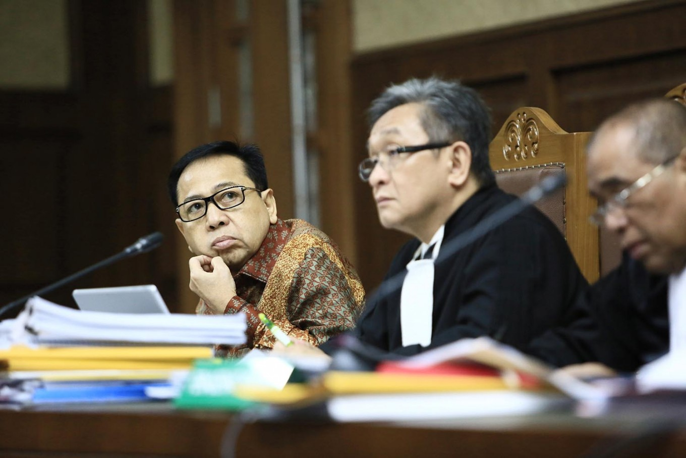 Rights watchdog cautions KPK on Setya's testimony naming ministers