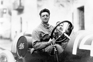 Photo exhibition held to celebrate 120th anniversary of birth of Enzo Ferrari