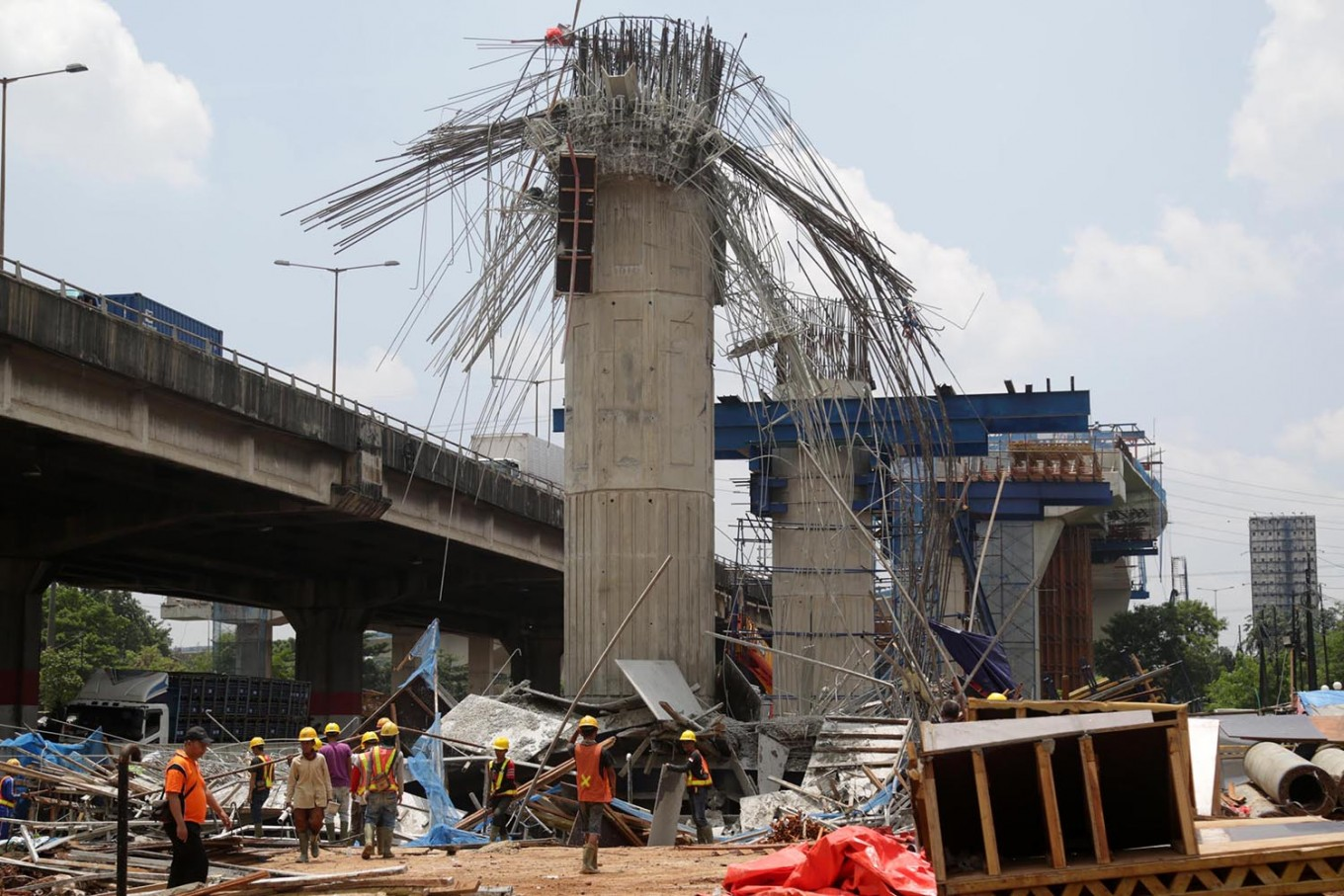 Thirteen elevated projects to resume work after being halted