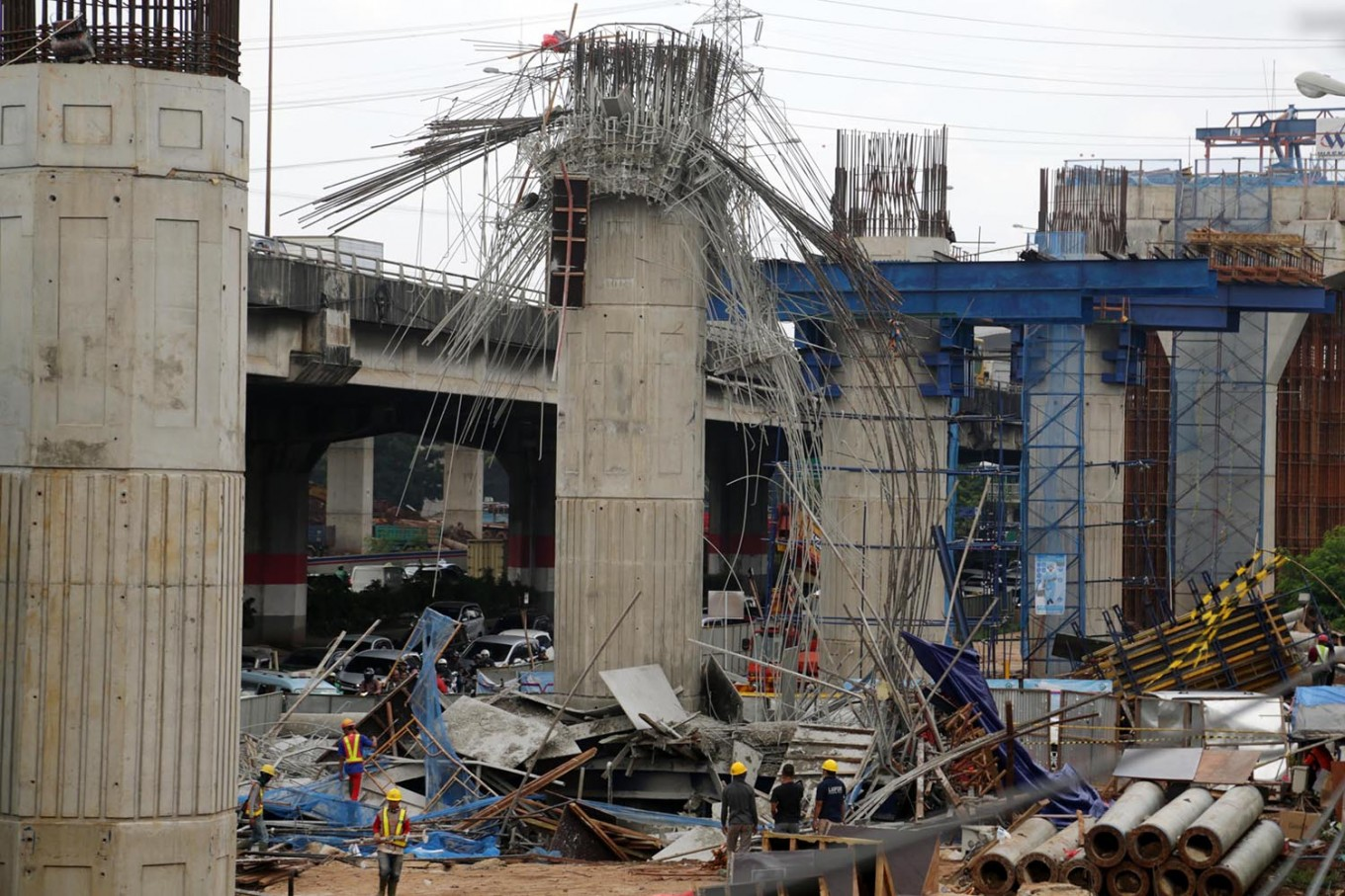State-owned constructor faces reshuffle after accidents