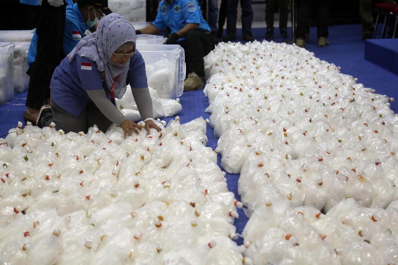 West Jakarta Police seize 100 kg of meth, arrest four people