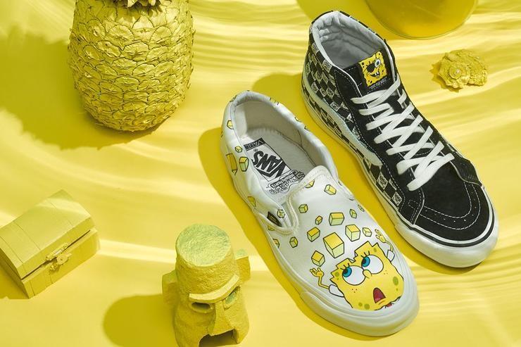 innovative design 85f68 b872f SpongeBob SquarePants set to feature on Vans limited edition ...