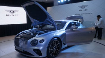 Bentley launches third generation Continental GT in Indonesia