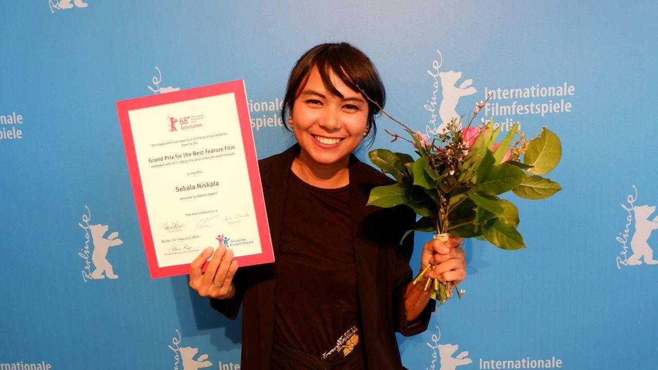 The movie 'Sekala Niskala' won Grand Prix at Berlin International Film Festival 2018