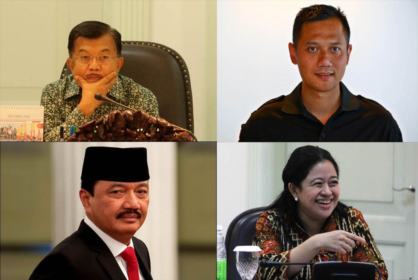 Jokowi's potential running mates: Pros and cons