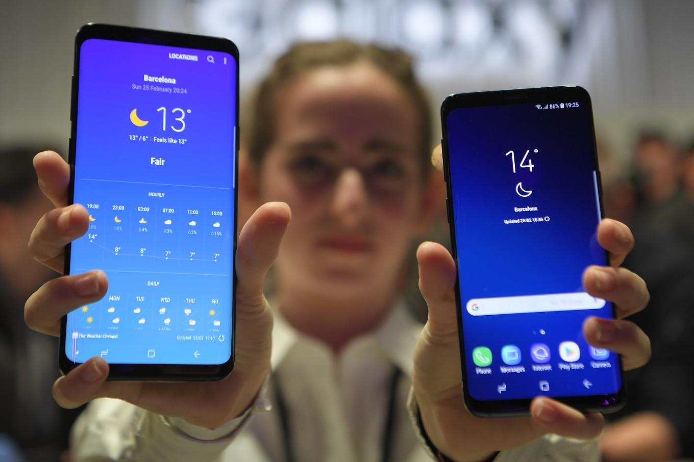samsung unveils prices for galaxy s9 s9 plus in indonesia. Black Bedroom Furniture Sets. Home Design Ideas