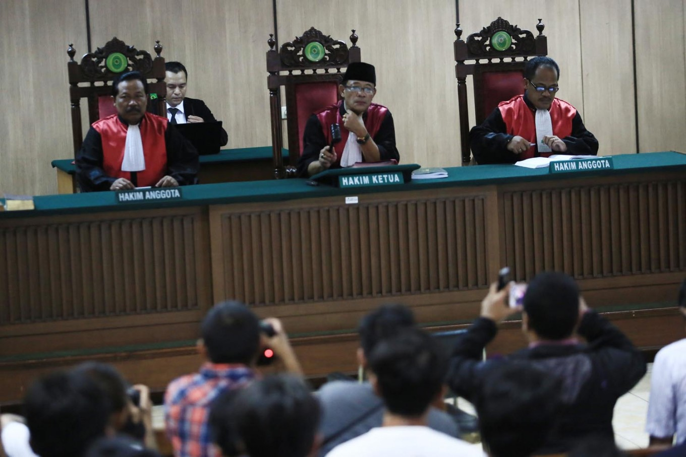 Ahok's lawyers yet to receive court's verdict document
