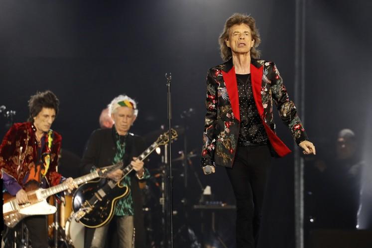 The Rolling Stones to headline 50th anniversary Jazz Fest