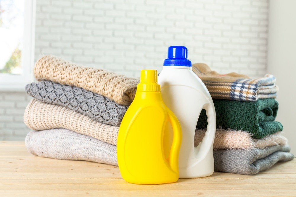Washing new clothes necessary to prevent skin irritation