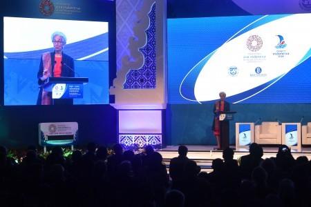 Lagarde urges Indonesia, ASEAN to continue reform