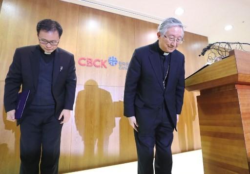 S. Korea Catholic church says 'devastated' by sex abuse scandal