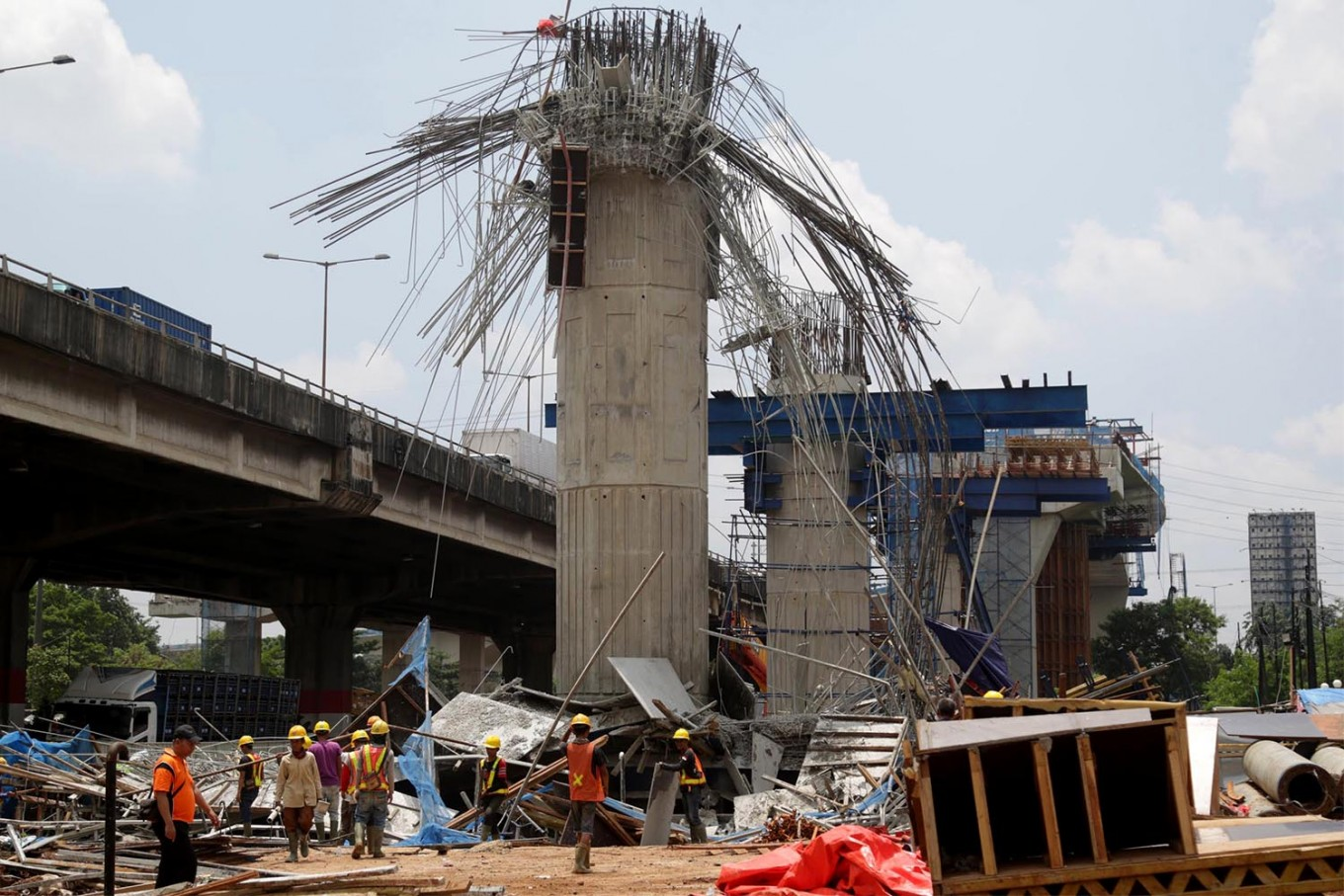 Indonesia's rapid infrastructure drive takes deadly toll