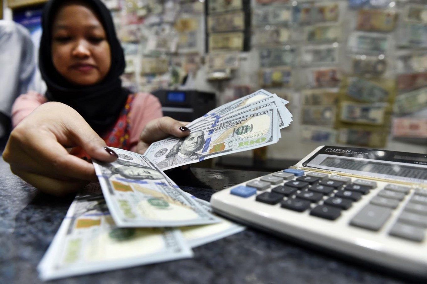 Rupiah sees strengthening trend over four days