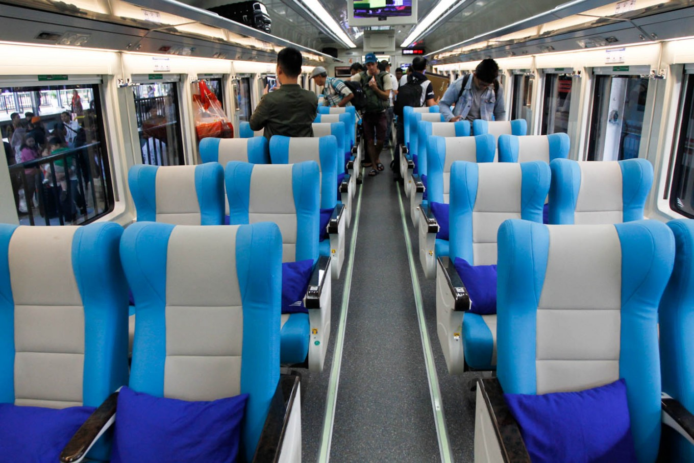 Cities to visit by train from Jakarta