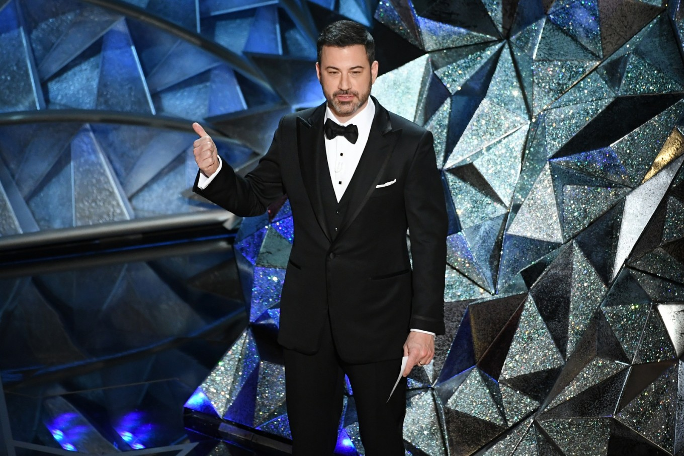 Jimmy Kimmel gets his third shot at hosting the Emmy Awards