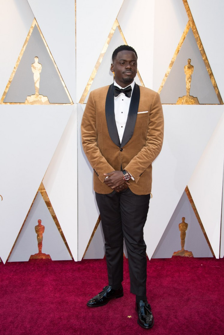 Daniel Kaluuya, Oscar nominee for 'Actor in a Leading Role'.