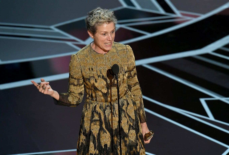 Frances McDormand wins third Oscar with 'Nomadland'