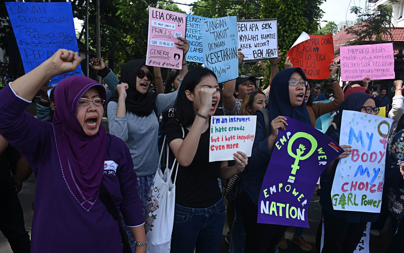 Rights activists concerned with lack of safe public areas for women
