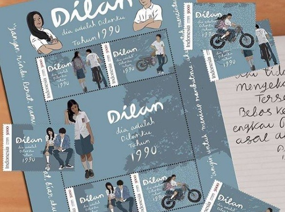 'Dilan 1990' stamps now available for purchase