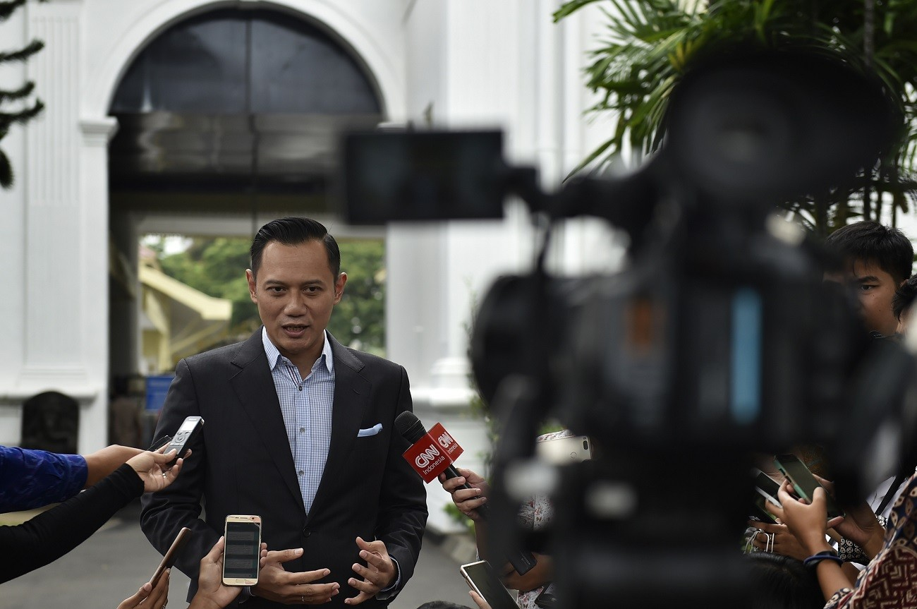 Dems open possibility to endorse Jokowi in 2019: Agus Yudhoyono