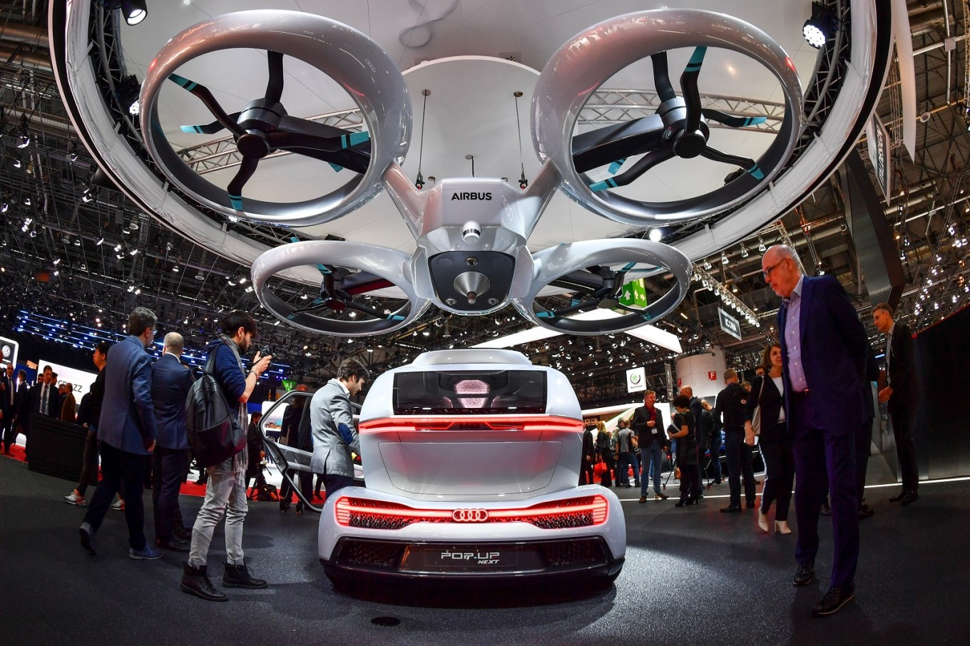 Flying cars mooted for Paris' public transport network