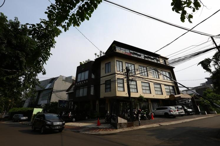 Sawana Suites is located in the Pejompongan area.
