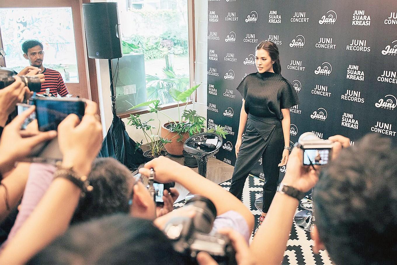 Raisa joins Juni Records' roster of stars