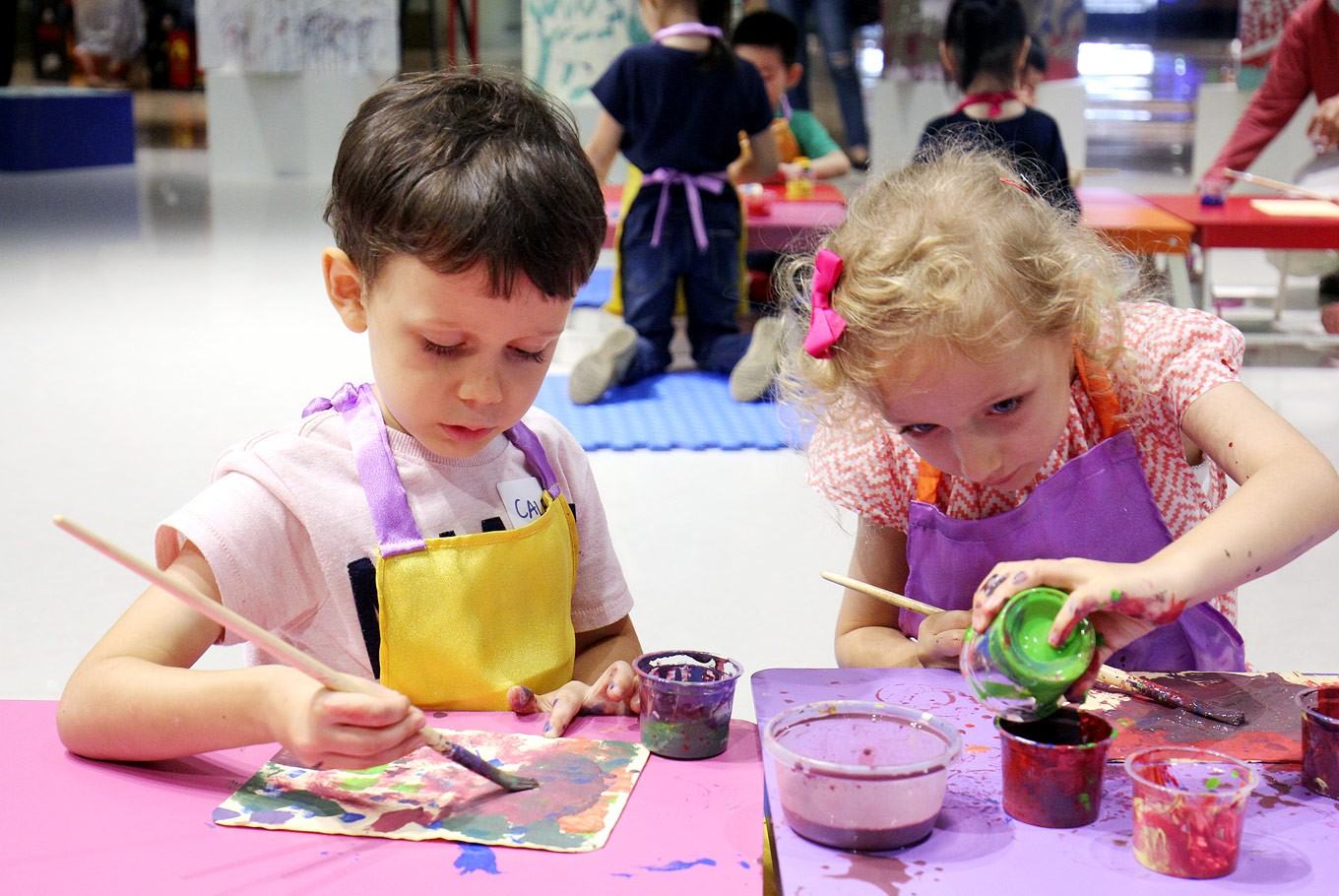 Art museum offers new weekend activities for families