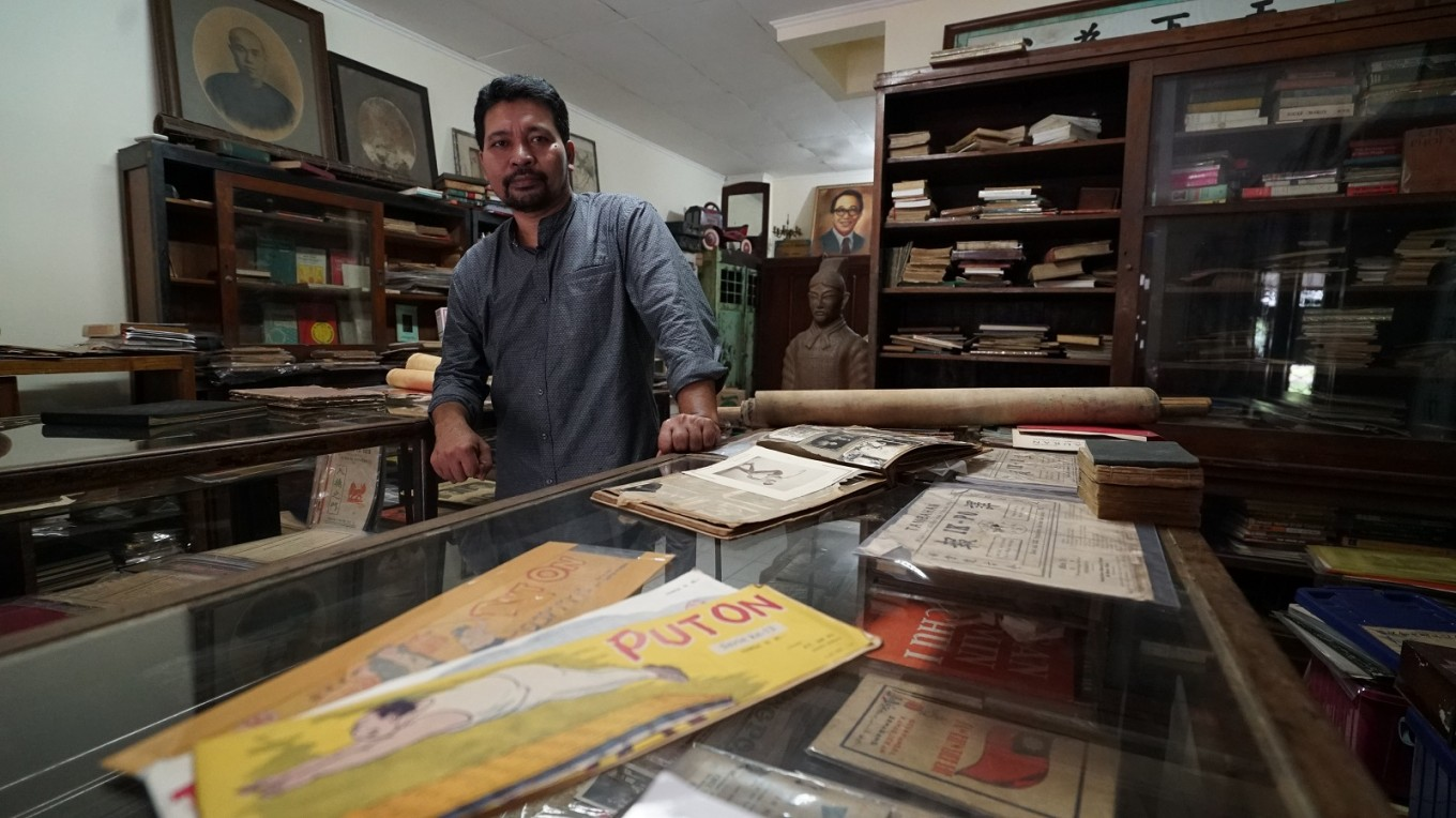 There is hope for peaceful diversity: The Chinese Indonesian Literature Museum  Art  Culture