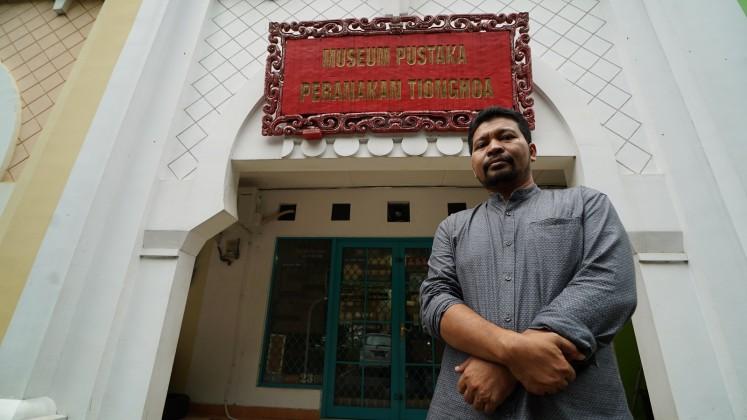 Museum Pustaka Peranakan Tionghoa (Chinese Indonesian Literature Museum) is located in South Tangerang, Banten.