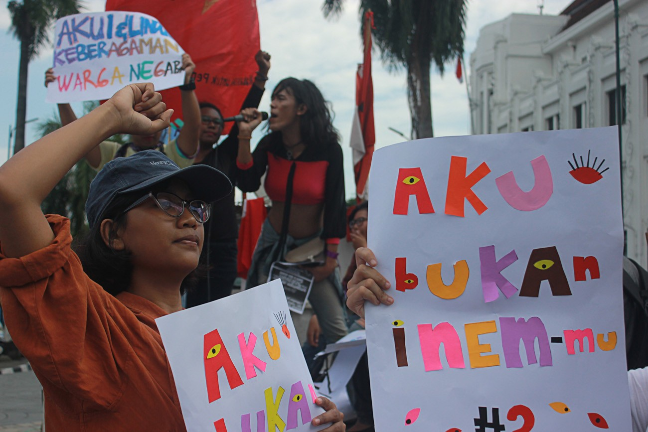 Women's March in Jakarta to be held in April after elections
